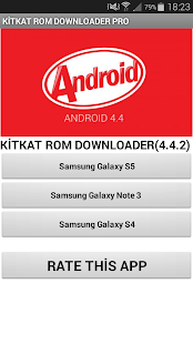Kitkat Rom Downloader PRO