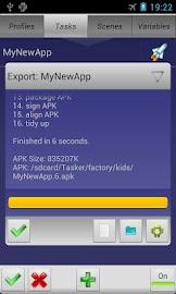 Tasker App Factory Screenshot 4