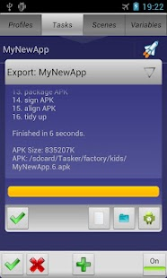 Tasker App Factory Screenshot 4