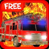 3D Firefighter Truck Driver F.