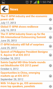 InternationalOutsourcingSummit - screenshot thumbnail