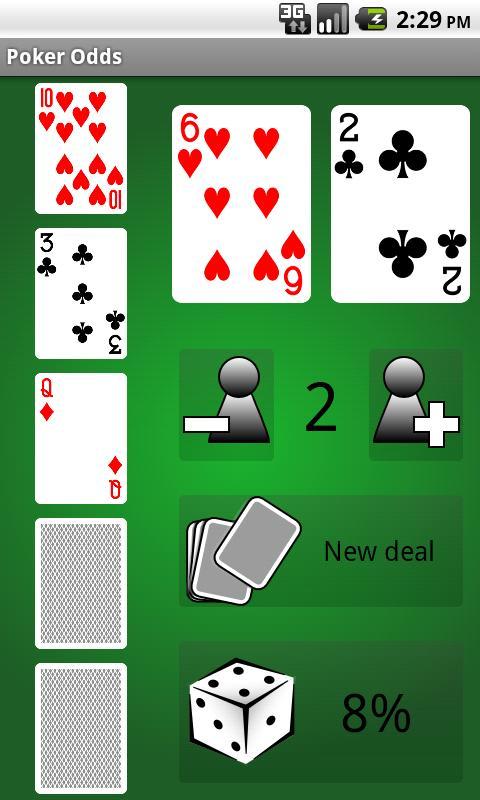 poker odds app