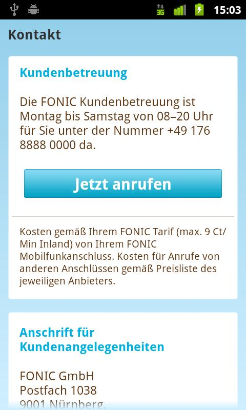 FONIC- screenshot