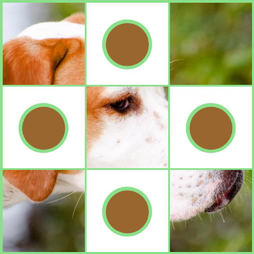 Flip Disc: Dogs Jigsaw Game LOGO-APP點子