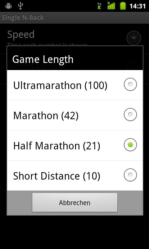 Single N-Back- screenshot
