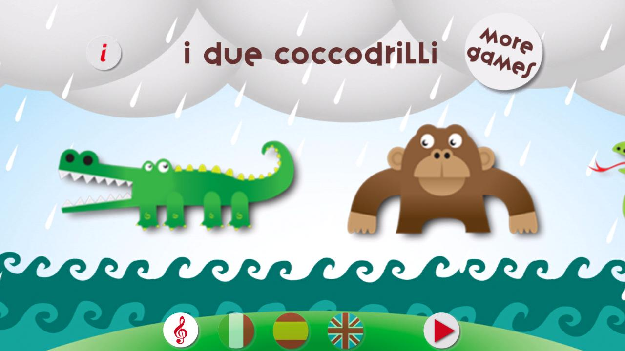 I due liocorni. Puzzle 4 kids- screenshot