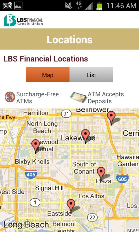 LBSFCU - screenshot