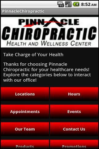 Pinnacle Chiropractic- screenshot