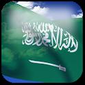 3D Saudi Arabia Flag LWP + logo