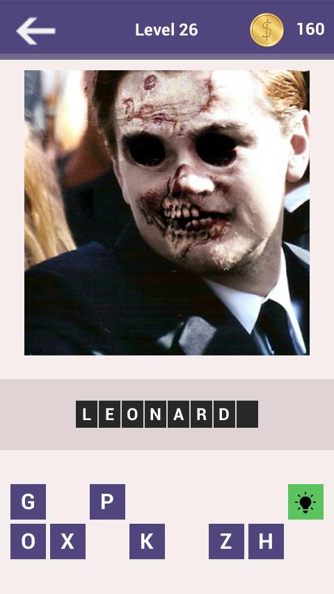 Celebrity Quiz: Zombie Edition - screenshot
