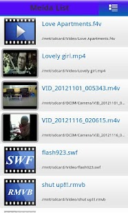 MP4 FLV WMV Media Player - screenshot thumbnail