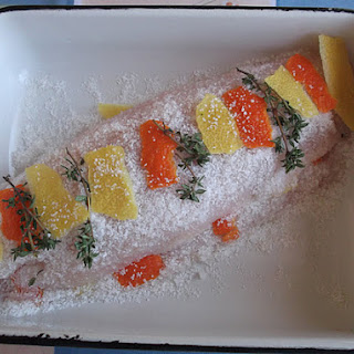 Citrus Cured and Marinated Red Snapper in a Salad Recipe