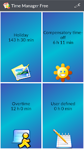 Time Manager Free screenshot 0