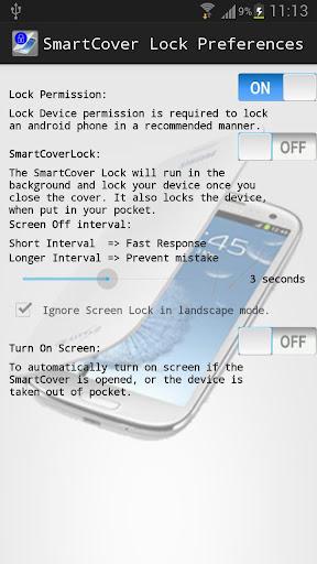 SmartCover Lock