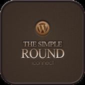 Round Go Launcher theme