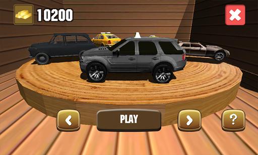 Taxi Driver Traffic 3D