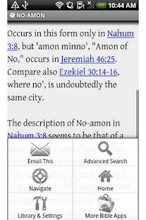 Bible Encyclopedia - screenshot thumbnail