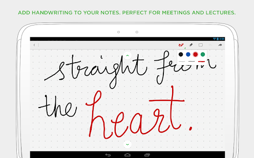 Evernote - screenshot thumbnail