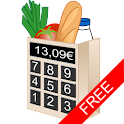 Shopping list calculator free logo