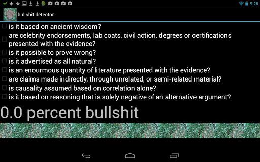 Actual Bullshit Detector