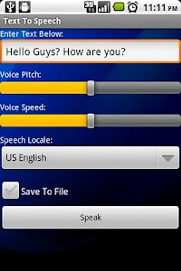 Text To Speech screenshot 2