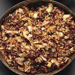 Wild Rice & Mushroom Stuffing Recipe