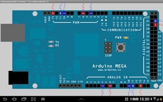 Screenshot of ArduinoCommander