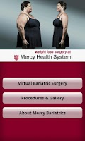 Screenshot of Mercy Bariatrics