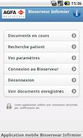 Screenshot of Bioserveur Infirmier