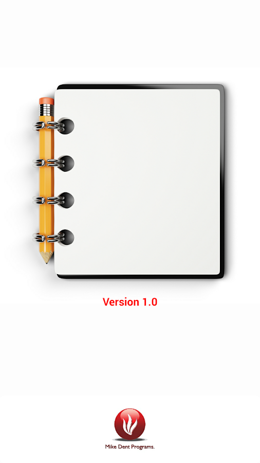 Notepad Text Organiser- screenshot