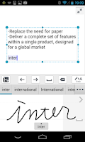 Screenshot of mazec3 Handwriting Recognition