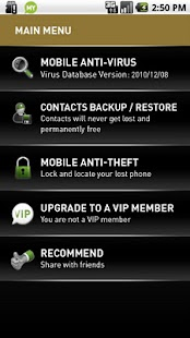 MYAndroid Protection Security - screenshot thumbnail