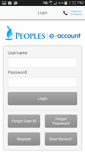 Peoples eAccount- screenshot thumbnail