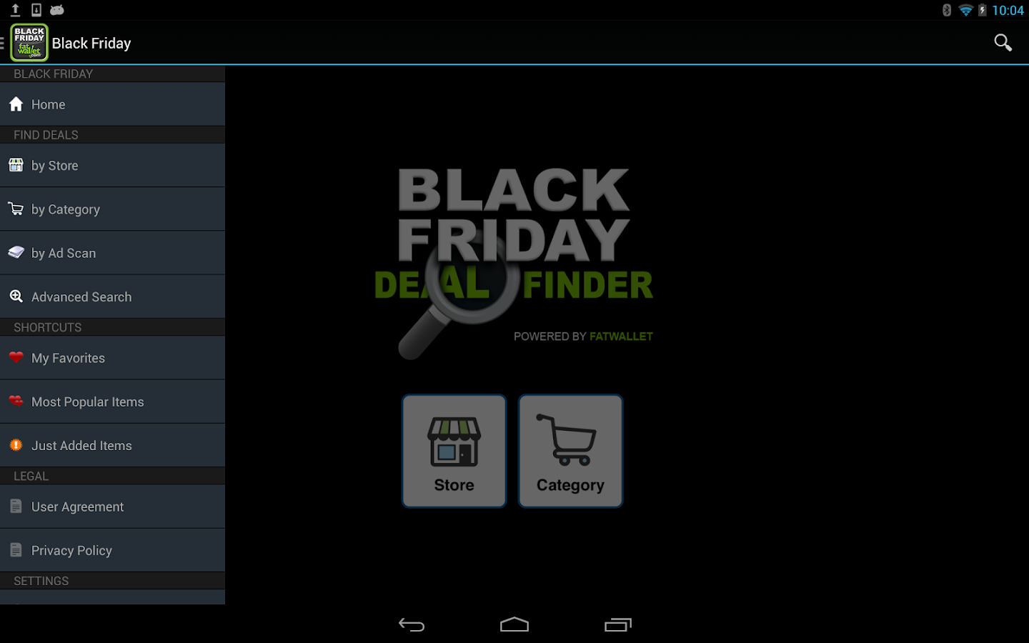 Black Friday Deal Finder- screenshot