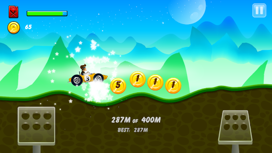 Hill Racing: mountain climb - screenshot thumbnail