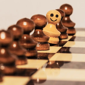 Be Different! by Dragos Iancu - Artistic Objects Other Objects ( different, life, chess, game, people )