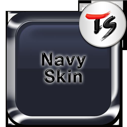 深蓝色皮肤 for TS 键盘 工具 LOGO-阿達玩APP