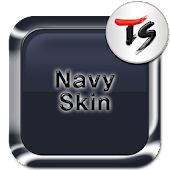Navy Skin for TS Keyboard