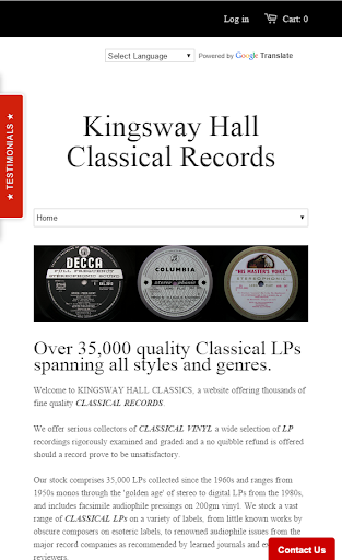 Kingswayhall Classical Records