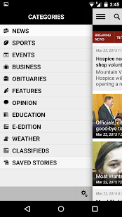 Mt. Airy News- screenshot thumbnail