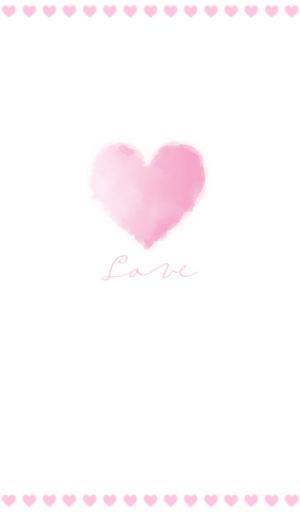 pink love 카카오톡 테마