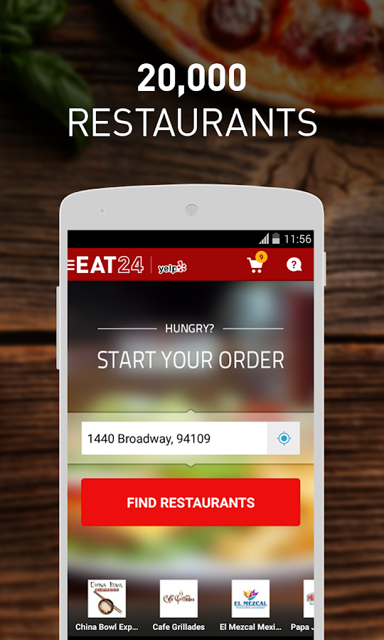 EAT24 Food Delivery & Takeout - screenshot
