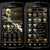 Black Knight GO Launcher Theme
