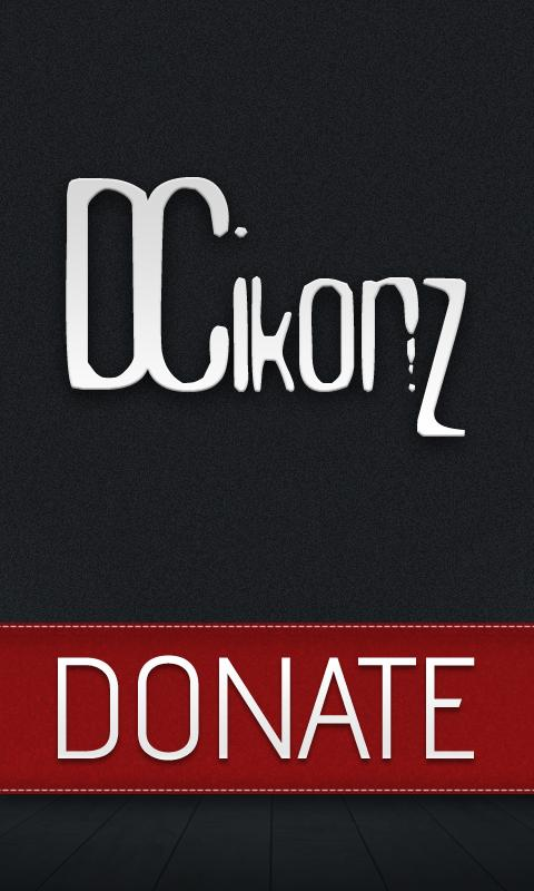 DCIkonZ Donate Silver - screenshot