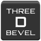 Three D Bevel Icon Pack