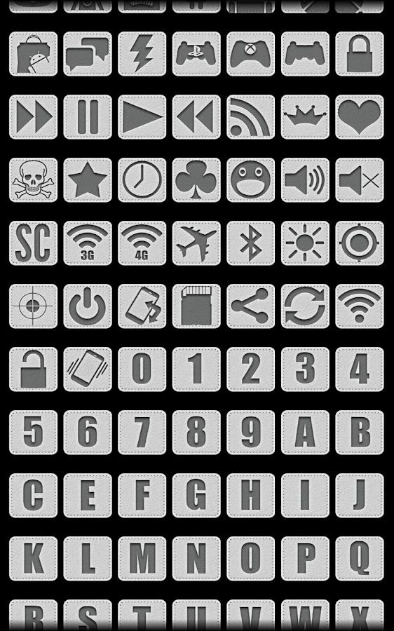 Leather - Icon Pack- screenshot
