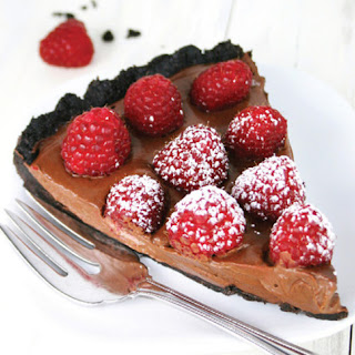 Chocolate Raspberry Gluten Free Tart