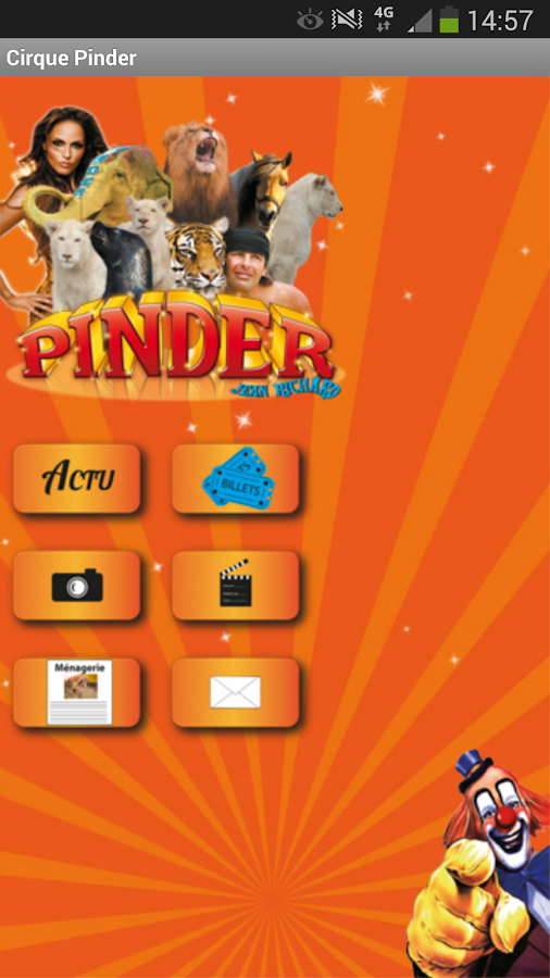 Cirque Pinder- screenshot