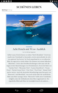 DIE WELT Tablet App - screenshot thumbnail