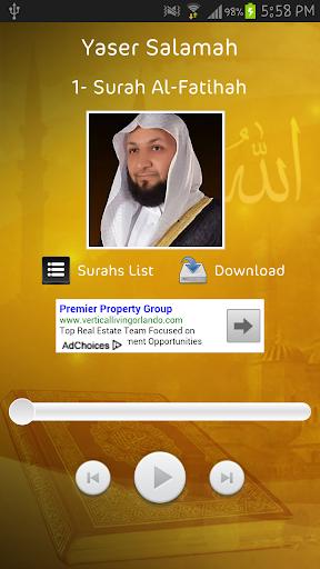 Yaser Salamah - Holy Quran